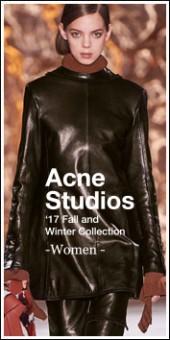 Acne Studios -Women- 2017A/W