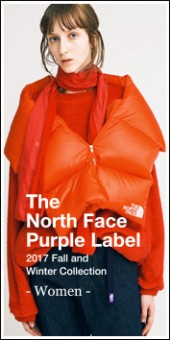 THE NORTH FACE PURPLE LABEL -Women- 2017A/W