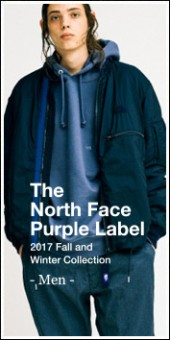 THE NORTH FACE PURPLE LABEL -Men- 2017A/W