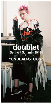 doublet 2018S/S Collection