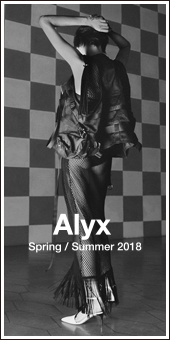 Alyx 2018S/S Collection