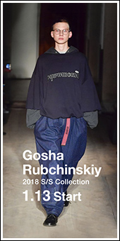 GOSHA RUBCHINSKIY 2018S/S Collection