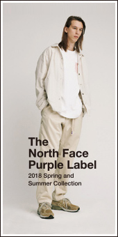 THE NORTH FACE PURPLE LABEL 2018S/S
