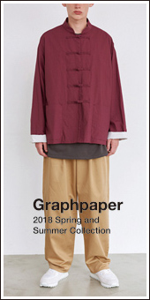 Graphpaper 2018 S/S Collection