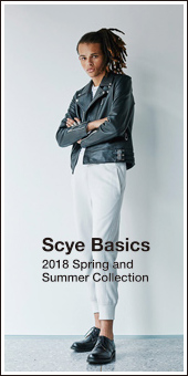 Scye Basics 2018 S/S Collection