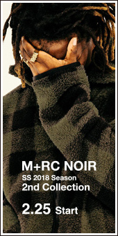 M+RC NOIR 2018 S/S Collection