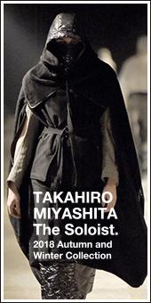 Takahiro Miyashita The Soloist. 2018A/W Collection