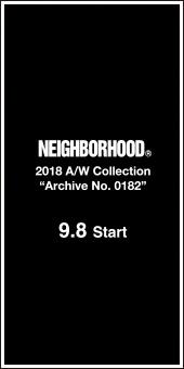 Neighborhood 2018A/W Collection