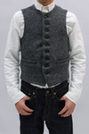 Harris Tweed CREW NECK VEST (GL12612)