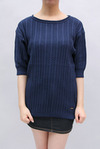 Bed & Breakfast Cable Stripe Knitチュニック(8031400008)