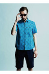 CLUCT S/S PAISLEY SHIRTS(01224)