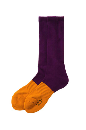 Mr.Gentleman 2-COLORED SOCKS (MG13A-AC20)
