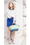 GRADATION BAG -BLUE-(141040)