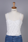 Scalloped lace bustier (111420469401)