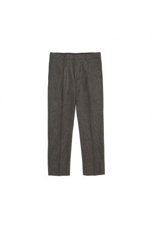 Mr.Gentleman SET UP CHECK PANT SLIM FIT (EFW-TR09)