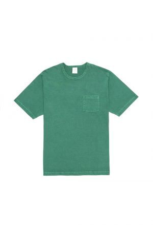 Mr.Gentleman VINTAGE WASHED TEE - GREEN - (MGK-CS02)