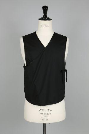 Takahiromiyashita The Soloist. crossover front vest. (sj.0002SS17)