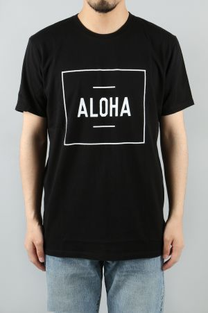 Aloha Beach Club BOXER TEE - BLACK (TS0001)