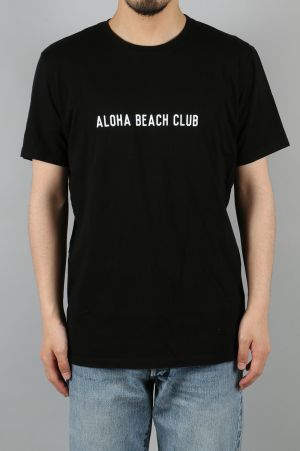Aloha Beach Club UNION TEE - BLACK (TS0021)