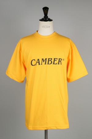 Camber 701 FINEST LOGO PRINTED TEE - GOLD (700066755)