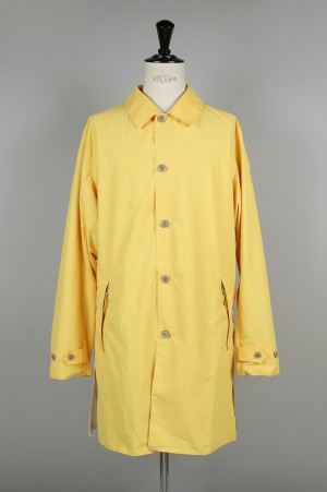nanamica -Men- SOUTIEN COLLAR COAT - YELLOW (SUB805)