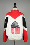 MINDSNARES ZIP NECK SWEAT / RED(3548)