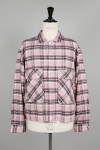 PLAID 925 SHIRT - PINK (YT-S0201)
