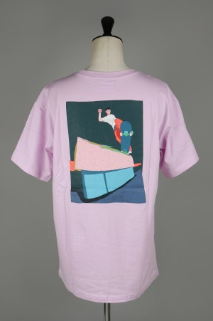 Paterson PULEO CUT OUT TEE (PAT-SS18-T09-PINK)