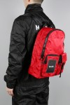 HI-TECH RED CAMO BACKPACK