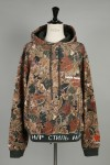 CAMO HOODED SWEATSHIRT (HMBB004F187100168801)
