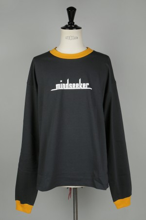 Mind Seeker YOURSELF LONG SLEEVE T-SHIRT / CHARCOAL(MS-18AW-T11)