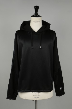 YSTRDY'S TMRRW HOODED TRACK TOP by STARTER - BLACK (YT-C0320)