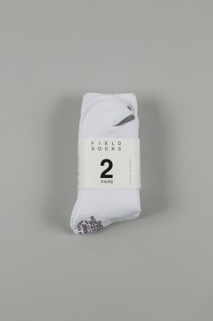 The North Face Purple Label -Men- Field Socks 2P - WHITE (NN8750N)