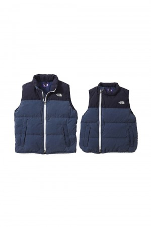 The North Face Purple Label -Men- Indigo Field Down Vest (ND2850N)