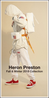 Heron Preston 2018A/W Collection