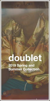doublet 2019S/S Collection
