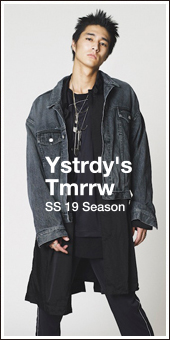 YSTRDY'S TMRRW 2019S/S Collection