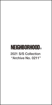 Neighborhood 2021SS Collection