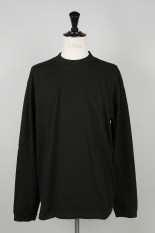 John Elliott LS MOCK TEE / BLACK(3120900002)