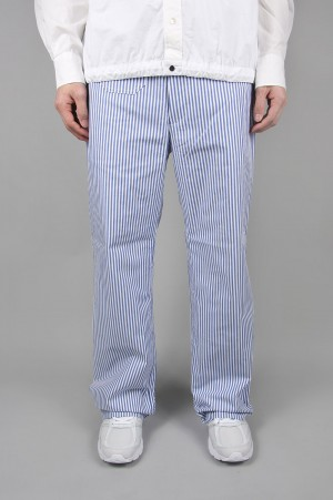 Junya Watanabe Comme des Garcons Man COTTON STRIPE TROUSER (WE-P018-051)