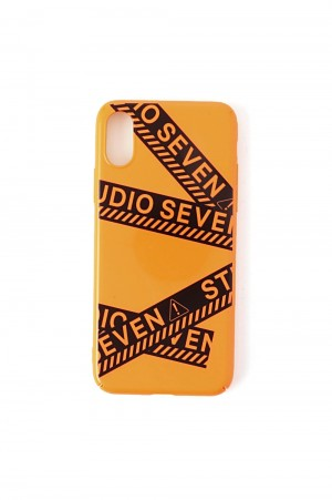 Studio Seven Caution iPhone Case X,XS/ORANGE(70864134)