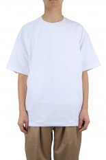 Graphpaper S/S Oversized Tee - WHITE