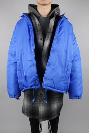 Stand Alone -Men- COACH JACKET -BLUE (STD9412JP15)