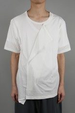 Ground Y Deformed Drape Sho/WHITE(GN-T04-046-1S20)