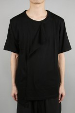 Ground Y Deformed Drape Sho/BLACK(GN-T04-046-3S20)