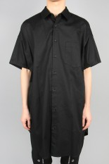 Ground Y Dolman Short Sleeve/BLACK(GN-B07-004-2S20)