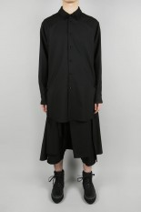 Ground Y Back Long Shirt(GA-B06-100-1S20)