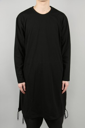 Ground Y GY-S20-0000-153/BLK/A Tied Long Sleeve(GN-T03-040-2S20)