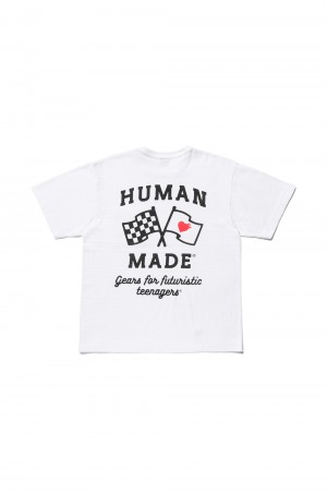 Human Made POCKET T-SHIRT #3 / WHITE (HM19CS030)