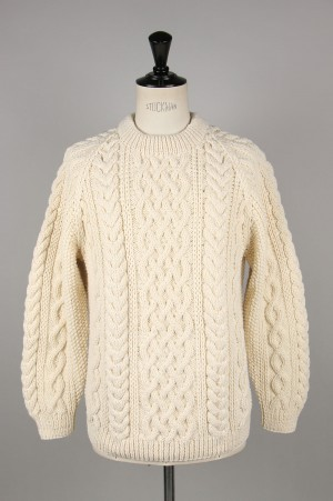 INVERALLAN 1a Crew Neck - NATURAL